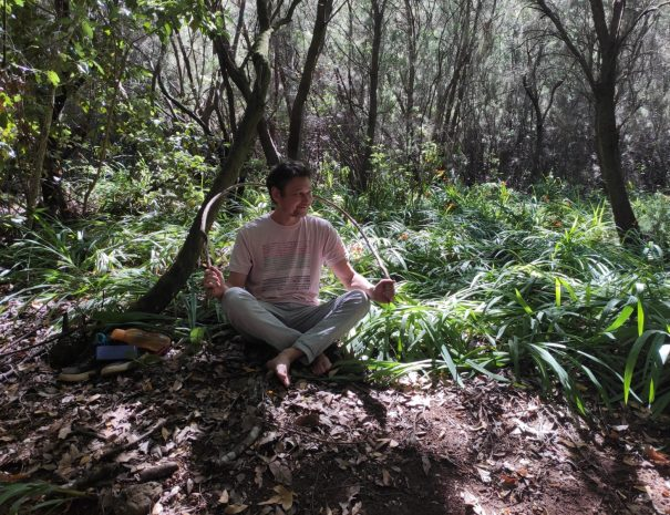 Thomas Pilicer Forest Therapy guide